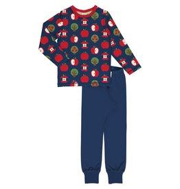 Maxomorra Pyjama met appel print