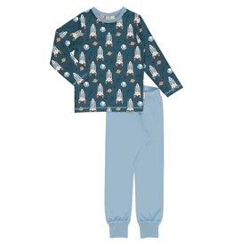 Meyadey Pyjama met raketten en planeten