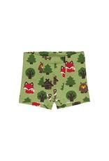 Maxomorra Boxer short met dieren uit het bos