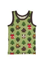 Maxomorra Tanktop met dieren uit het bos