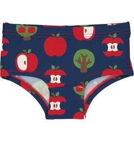 Maxomorra Meisjes onderbroek met appel print
