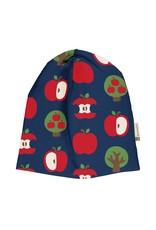 Maxomorra Muts (velours binnenin) met appel print