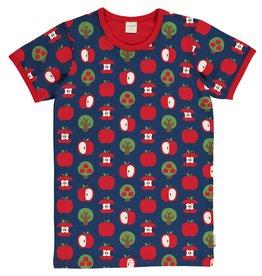 Maxomorra VOLWASSENEN t-shirt met appel print