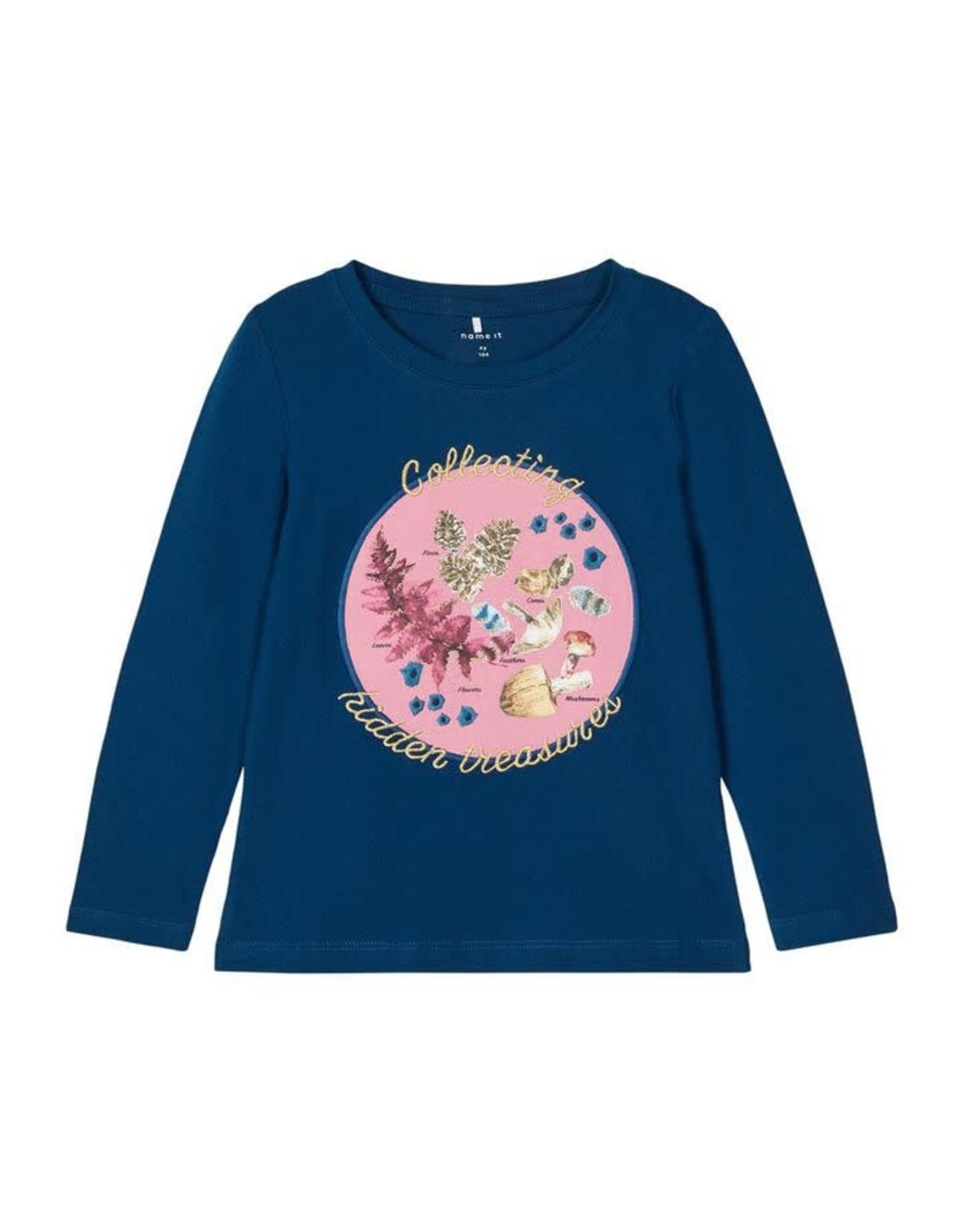 Name It T-shirt met paddenstoelen