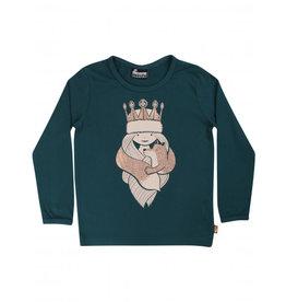 Danefae T-shirt met lange mouwen en sneeuwprinses freja