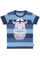 Danefae Gestreepte Danefae t-shirt met viking Erik