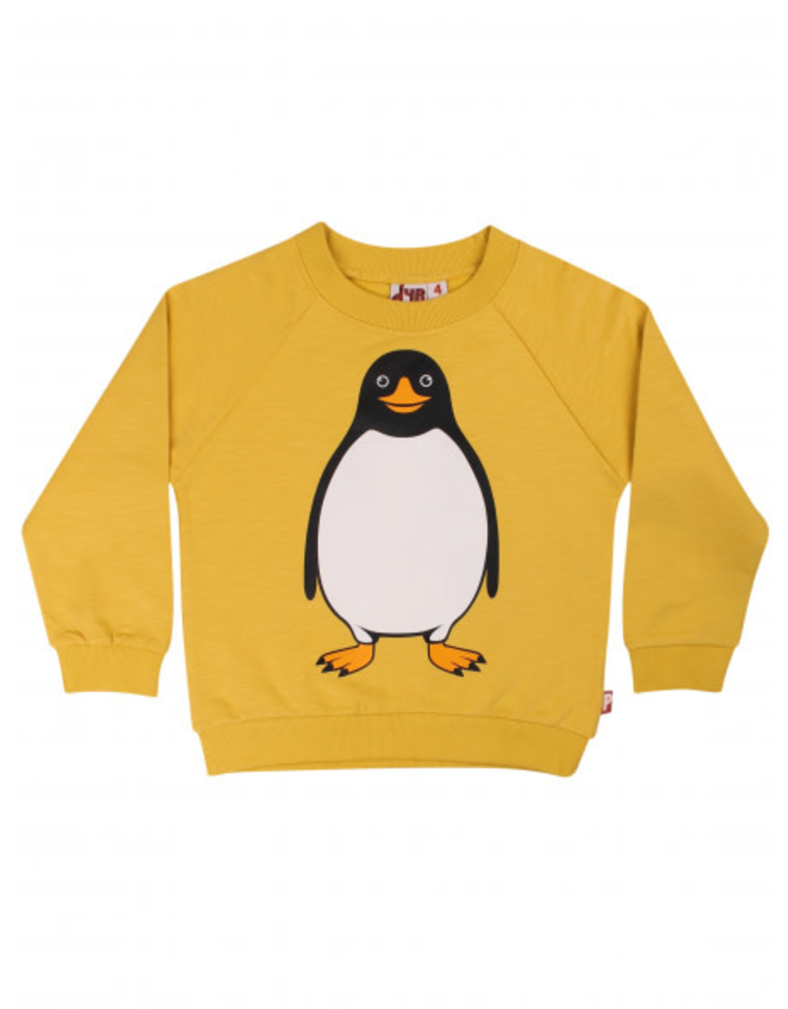 Dyr Gele trui met pinguin
