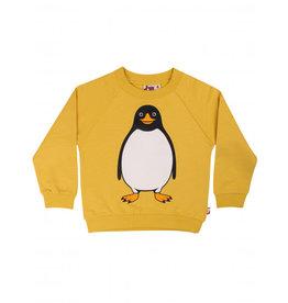 Dyr Gele trui met pinguin - LAATSTE MAAT 7Y