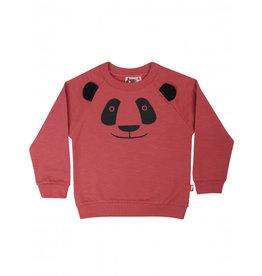 Dyr Roze panda trui met uitstekende oren
