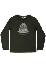 Dyr T-shirt met lange mouwen en walrus