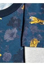 Name It T-shirt met lange mouwen en tijger print
