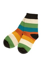 Villervalla Vrolijk gestreepte sokken