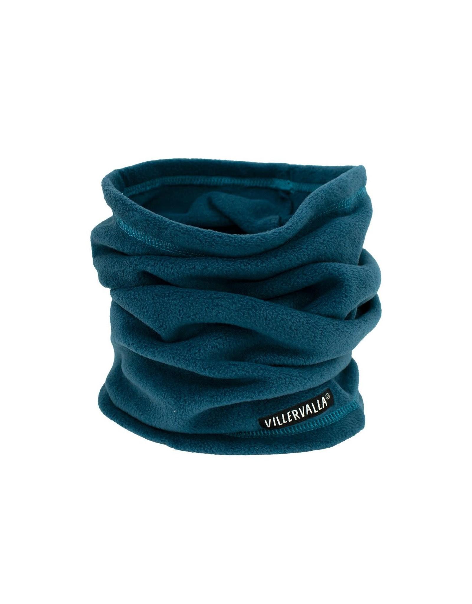 Villervalla Donkerblauwe fleece buff sjaal