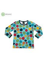 Villervalla Unisex t-shirt met bubbels print
