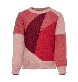 KIDS ONLY Gebreide trui met contrasterende kleuren