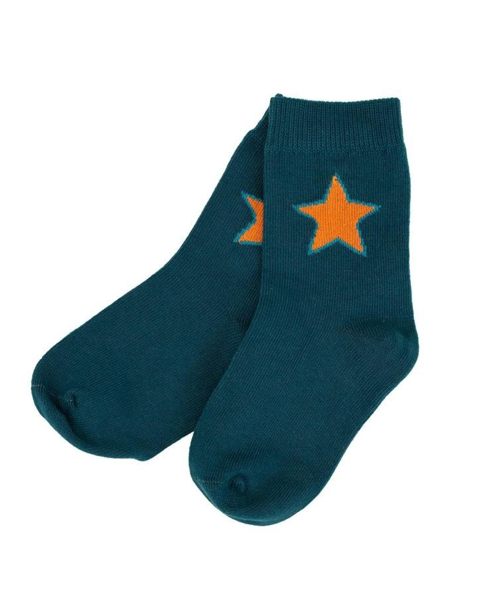 Villervalla Donkerblauwe sokken