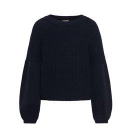 KIDS ONLY Donkerblauwe trui met vlindermouwen - LAATSTE MAAT 110/116