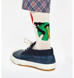 Happy Socks MAAT 36/40 - vrolijke Pippi Langkous sokken