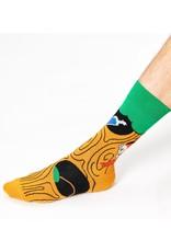 Happy Socks MAAT 36/40 - sokken met de limonade boom van Pippi Langkous