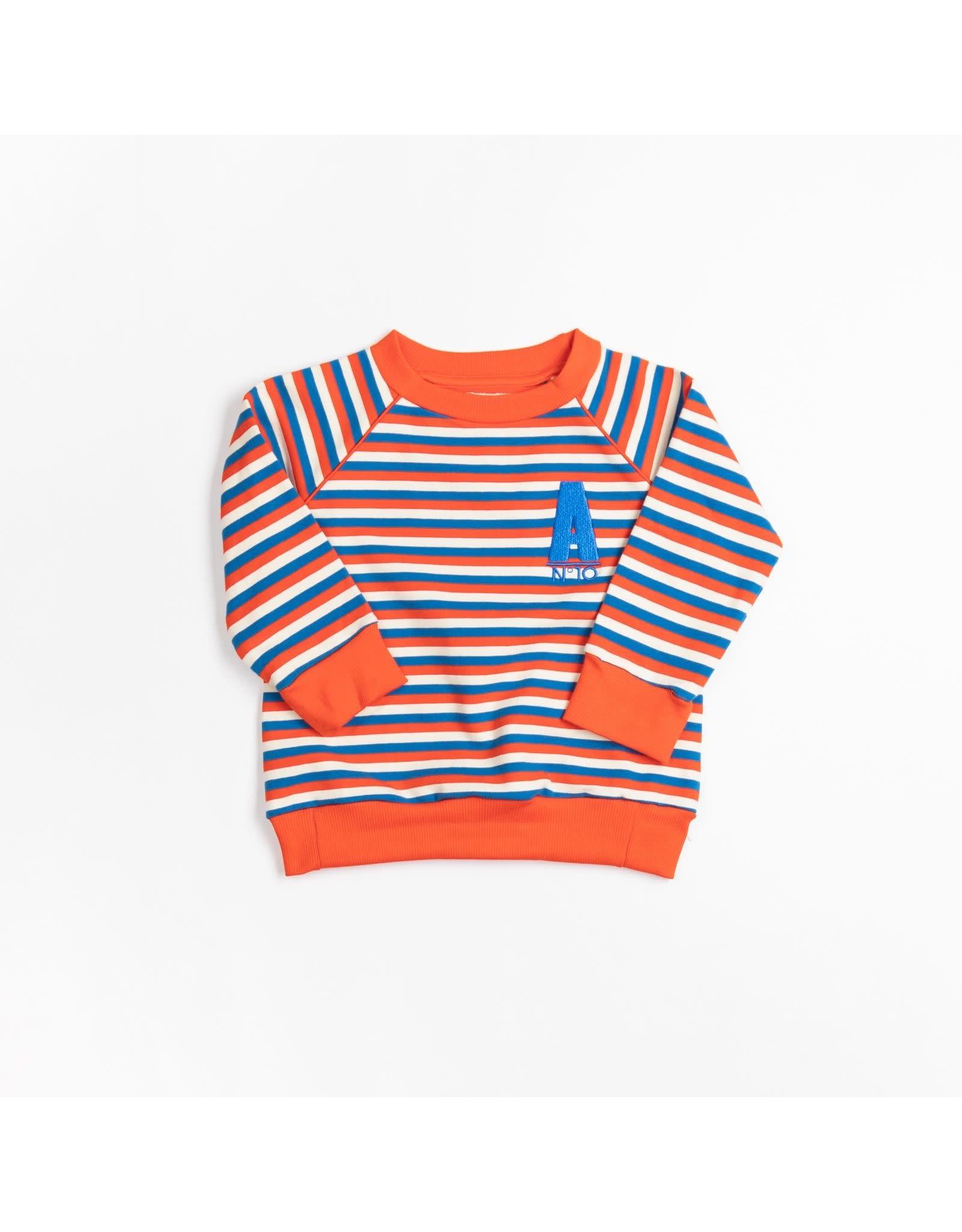 ALBA of Denmark Zachte trui met vrolijke streepjes