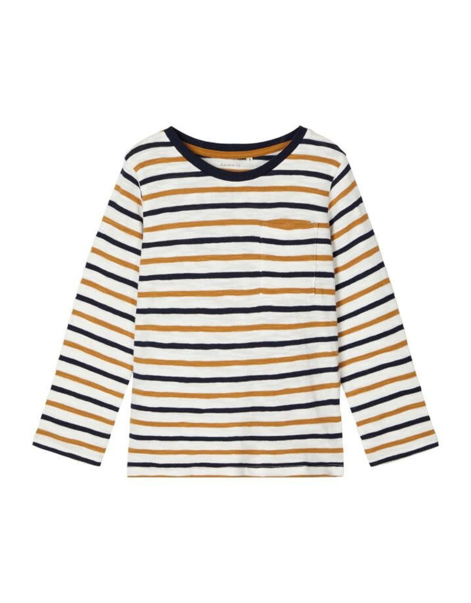 Name It T-shirt met streepjes