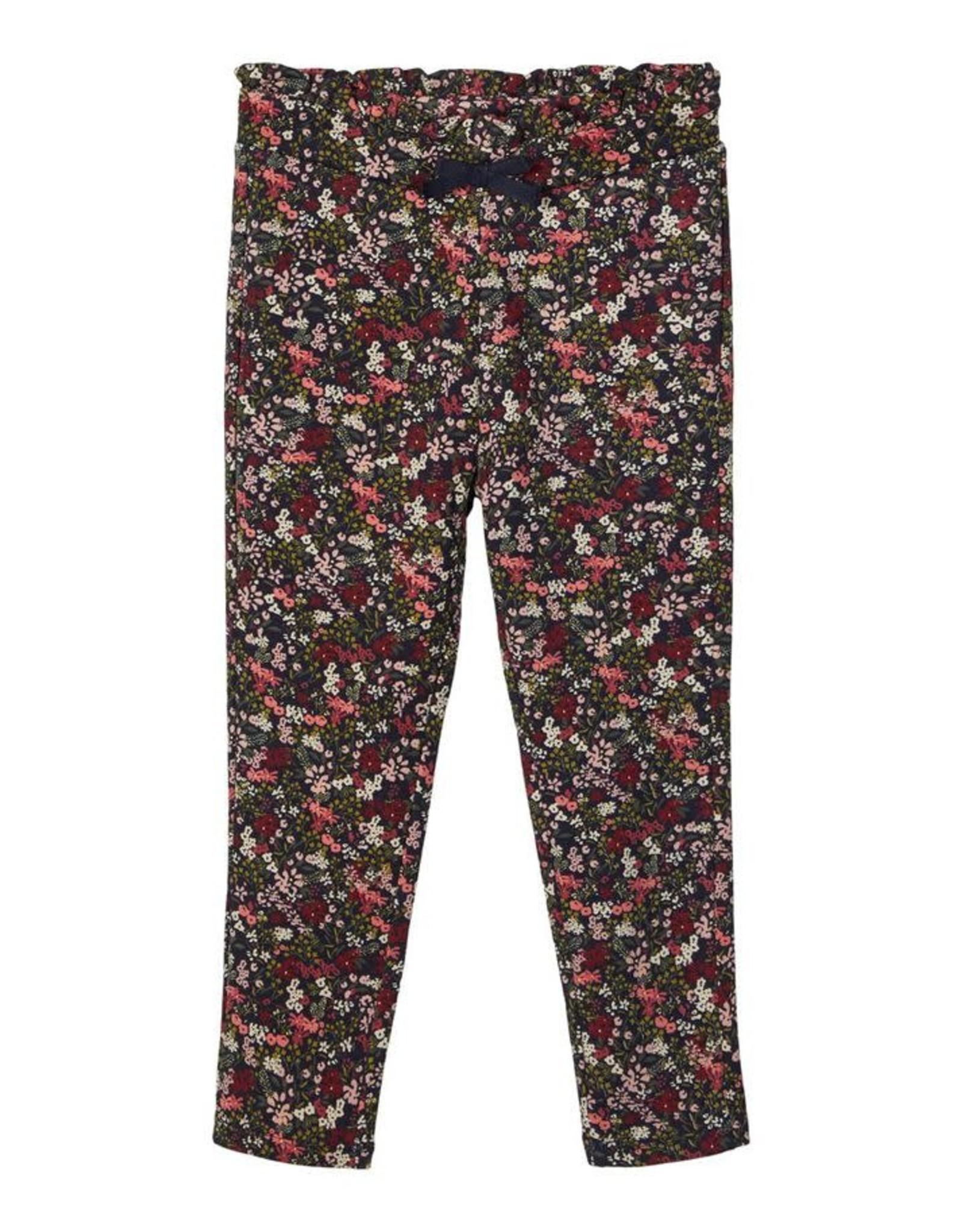 Name It Jogging broek met bloemetjes