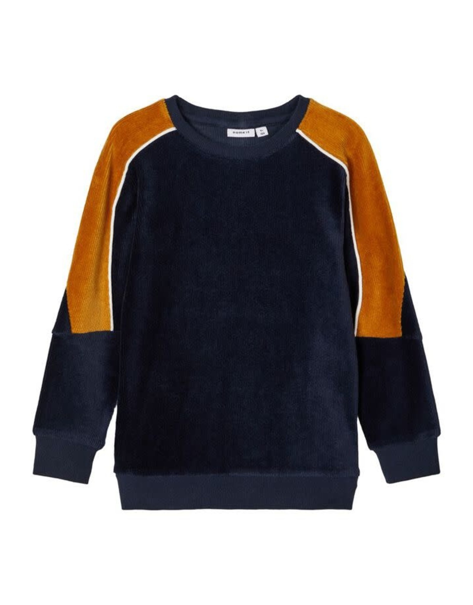 Name It Donkerblauwe velours trui
