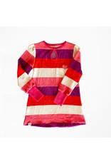 ALBA of Denmark Velours kleedje met strepen