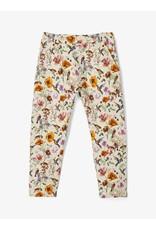 Name It Jogging broek met bloemen en vogeltjes