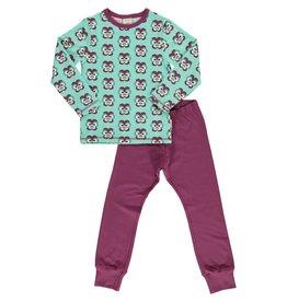 Maxomorra Pyjama met bloemenprint