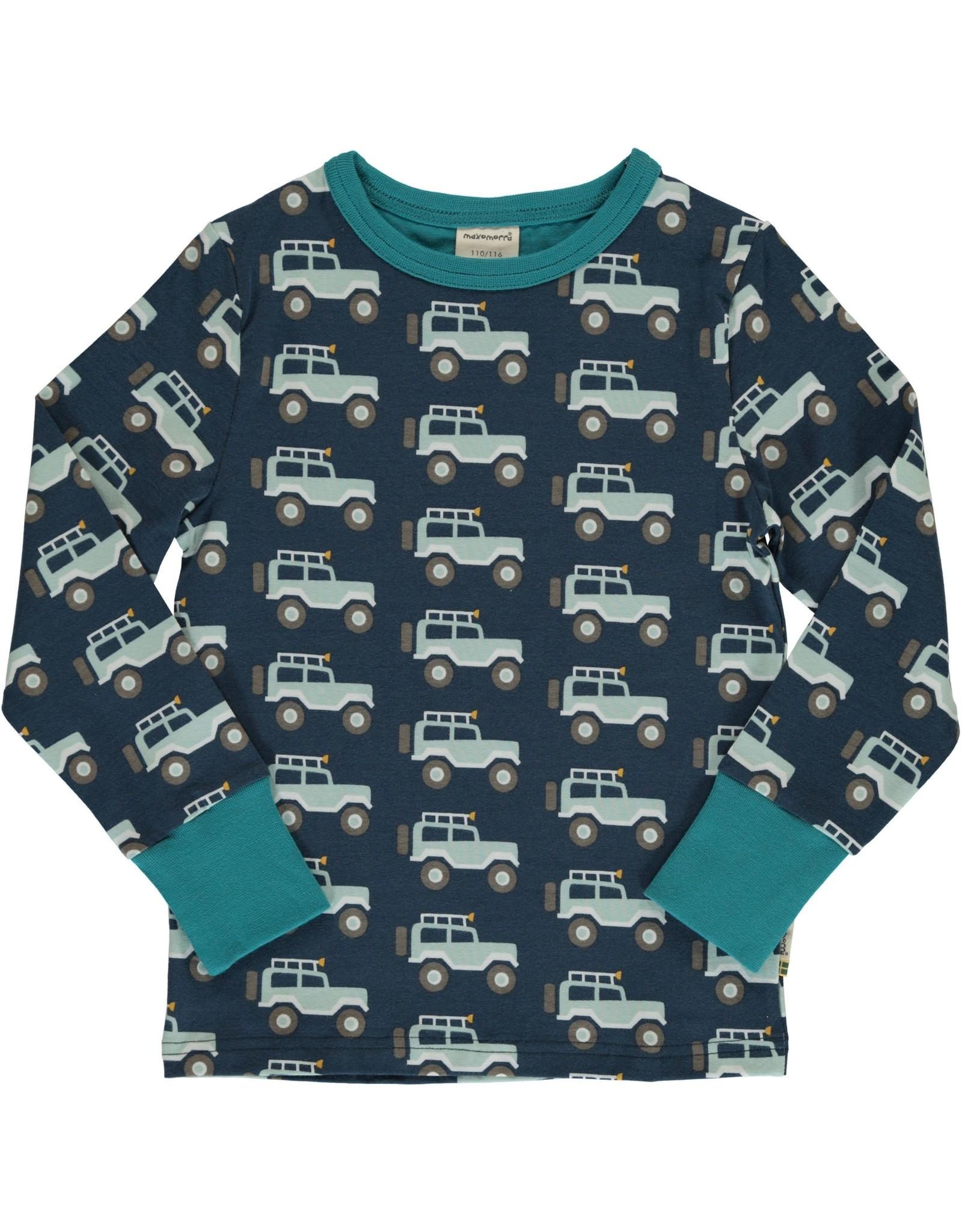 Maxomorra T-shirts met jeeps - LAATSTE MAAT 134/140
