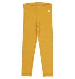 Maxomorra Effen oker kleurige leggings - LAATSTE MAAT 134/140