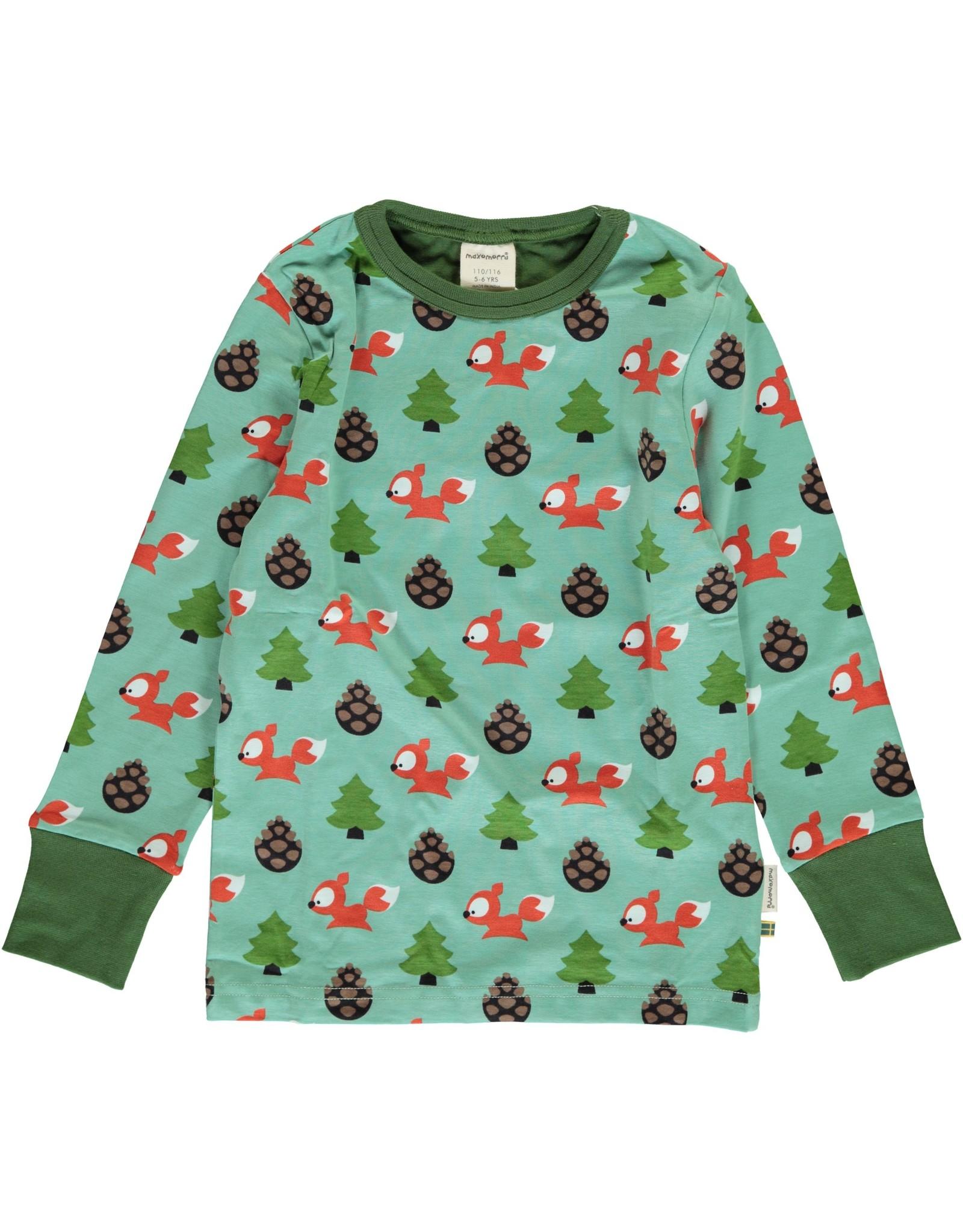 Maxomorra T-shirt met eekhoorn print - LAATSTE MAAT 86/92