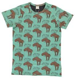 Maxomorra VOLWASSENEN t-shirt met elanden