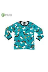Villervalla Unisex t-shirt met regenbogen - LAATSTE MAAT 92