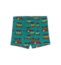 Maxomorra Boxer Shorts met treinen print