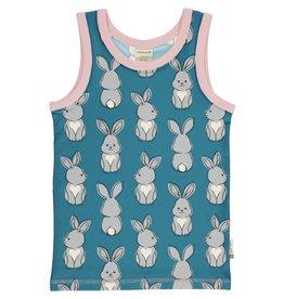 Maxomorra Onderlijfje met konijnen print