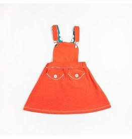 ALBA of Denmark Oranje overgooier kleedje - LAATSTE MAAT 152