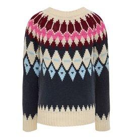 KIDS ONLY Gebreide meisjes trui met Scandinavische look