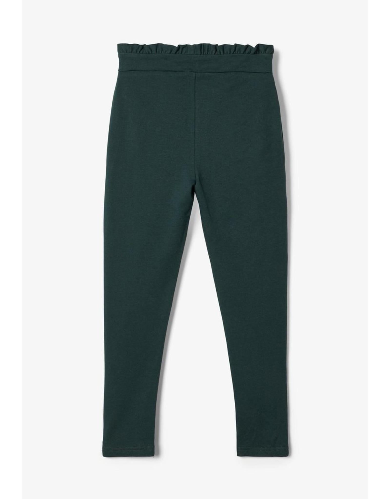 Name It Groene paperbag jogging broek