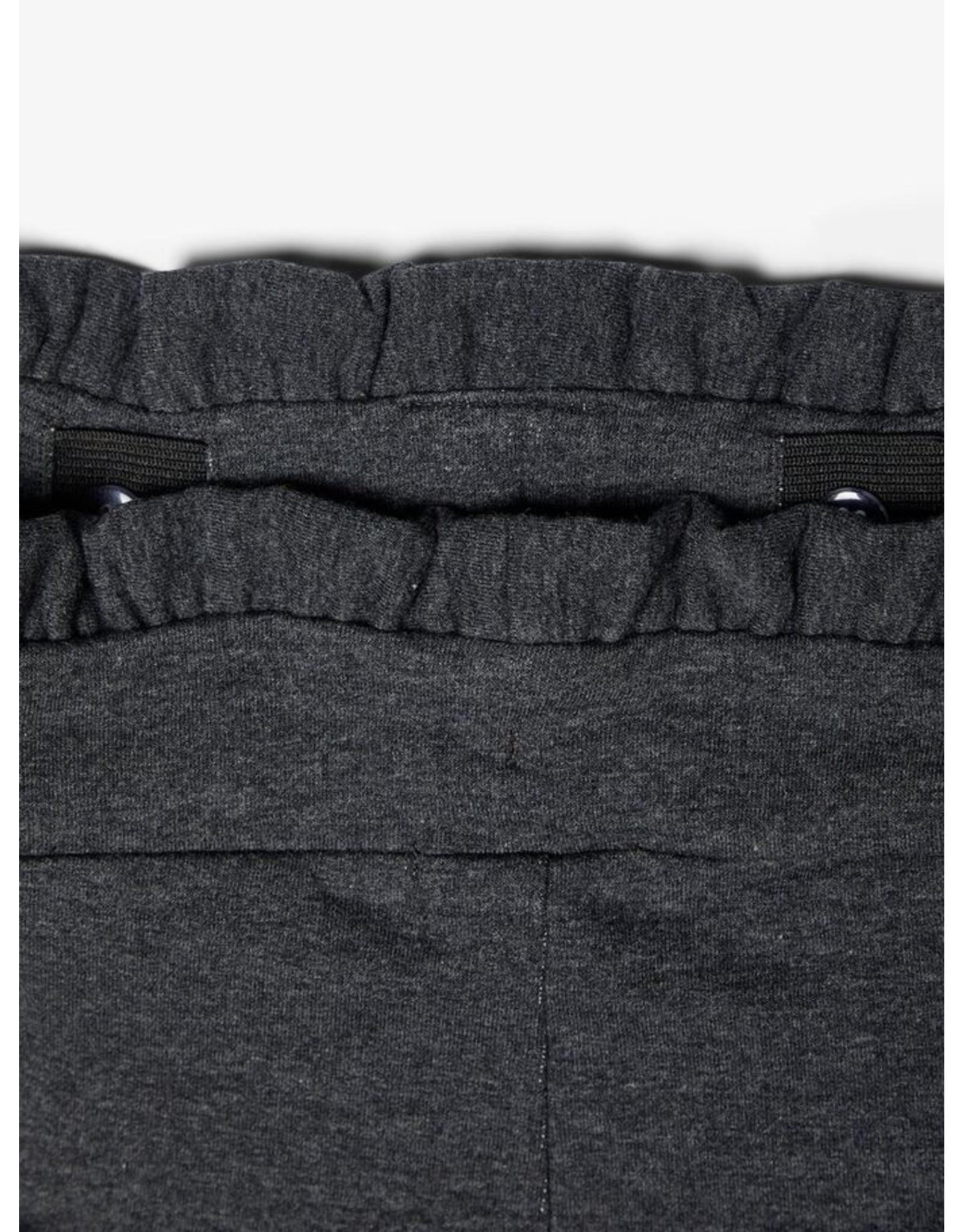 Name It Grijze paperbag jogging broek