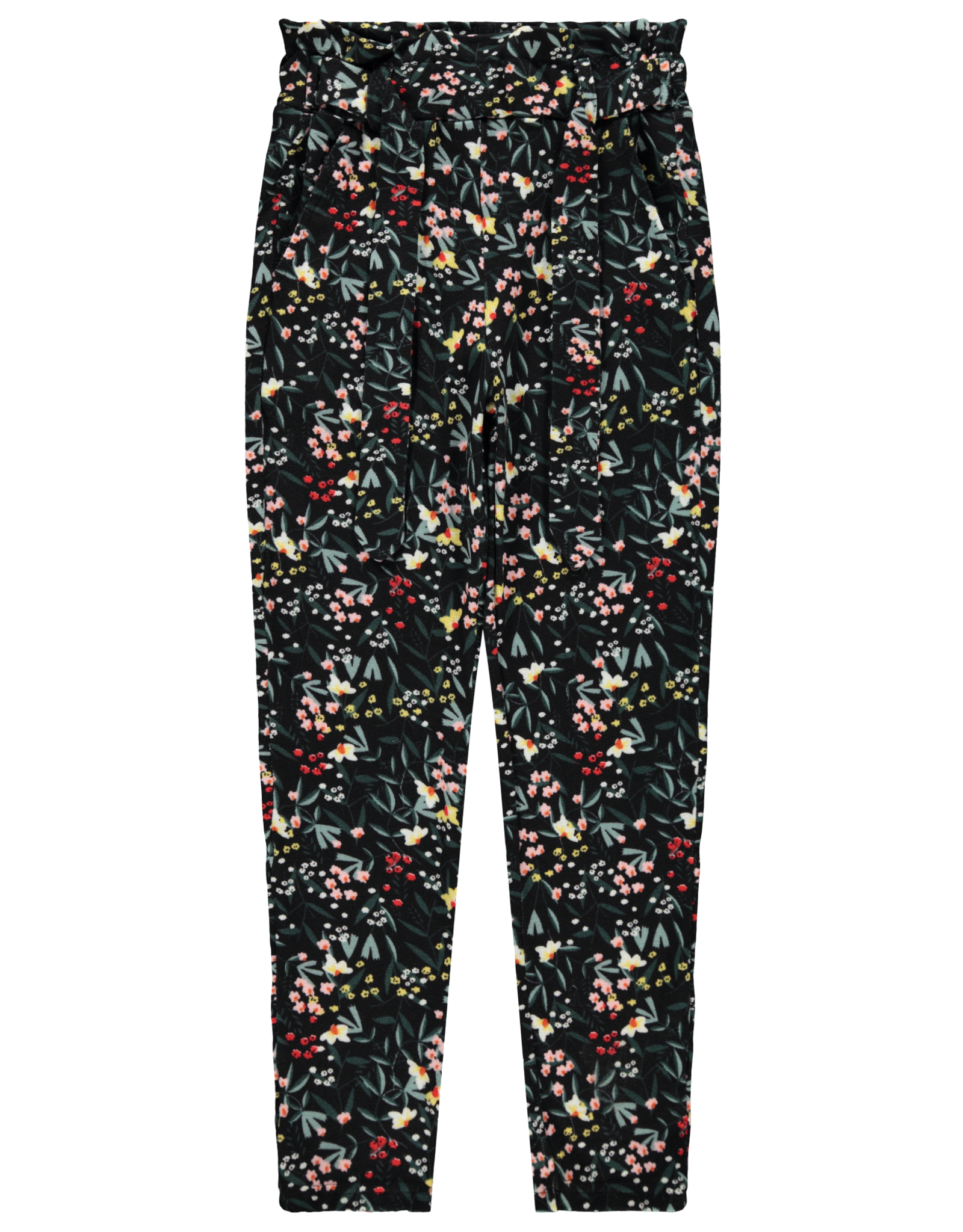 Name It Super zachte broek met bloemetjes print