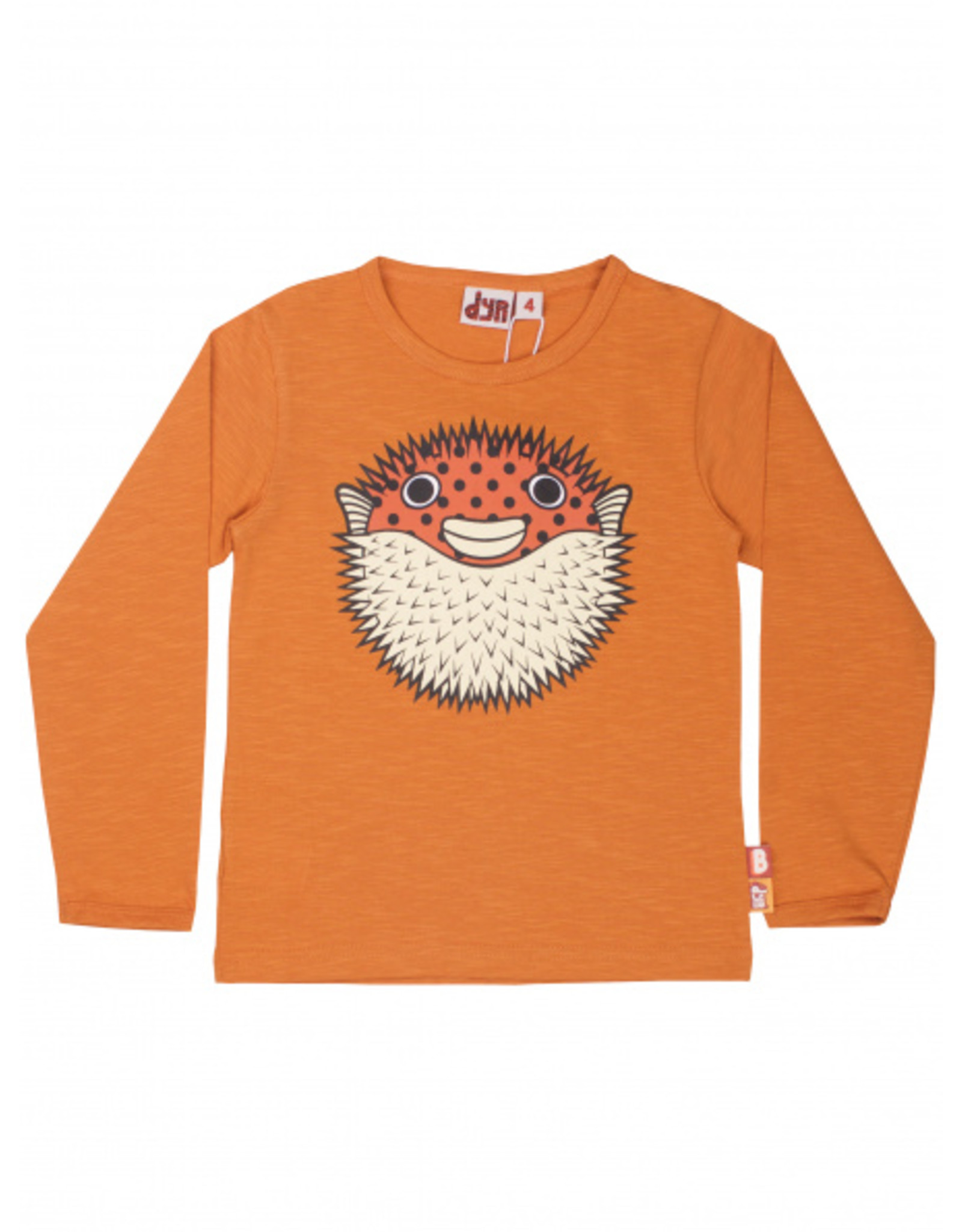 Dyr Oranje t-shirt met kogelvis