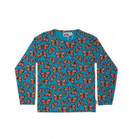 Dyr T-shirt met vlindertjes - LAATSTE MAAT 4Y