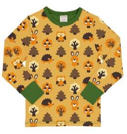 Maxomorra T-shirt met vrolijke diertjes uit het bos