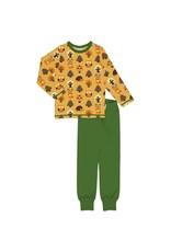 Maxomorra Pyjama met vrolijke bosdieren