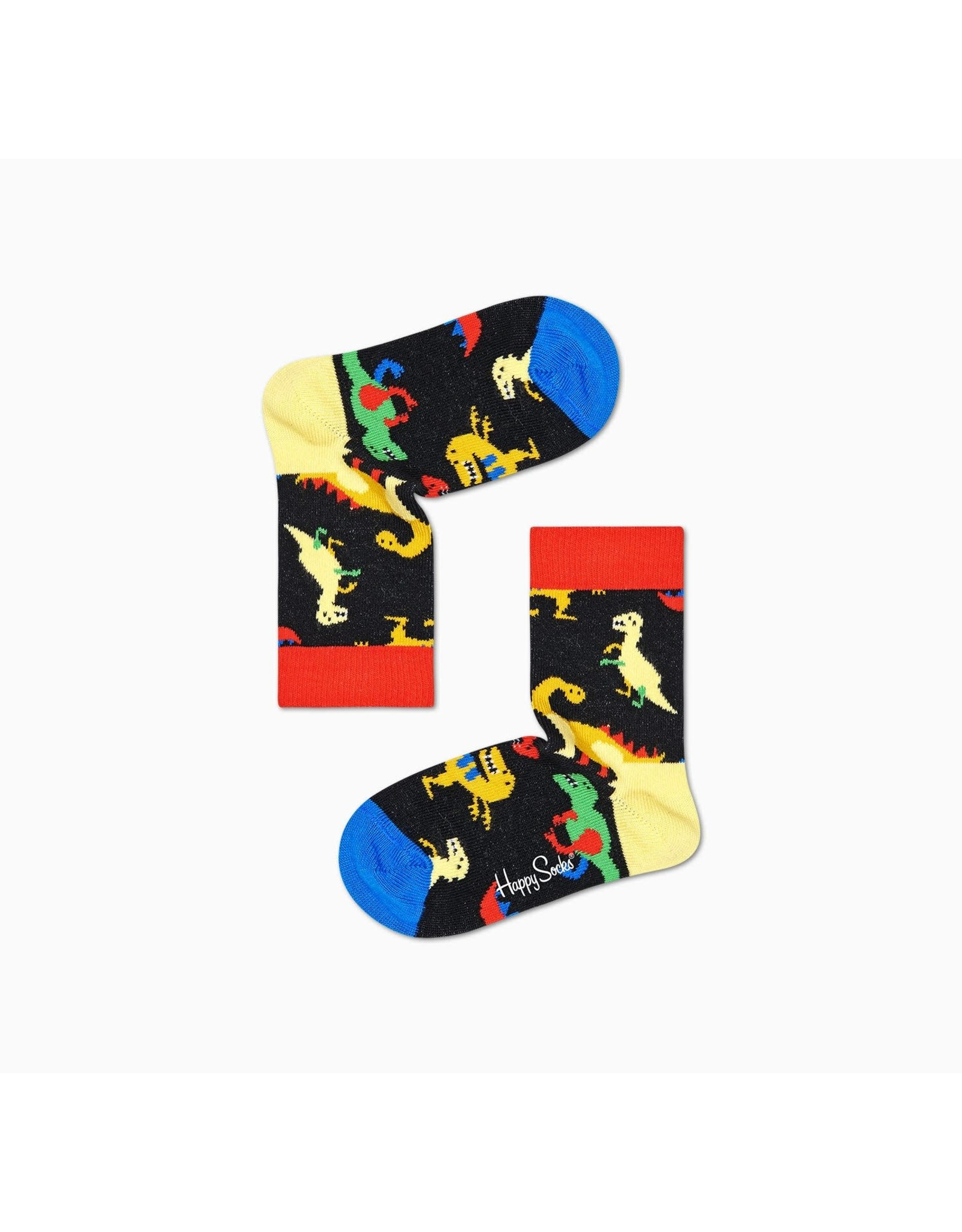Happy Socks Kindersokken met dino print