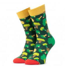 Happy Socks MAAT 36/40 - Groene broccoli sokken