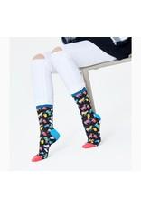 Happy Socks MAAT 36/40 - Sokken met koeien die milkshake drinken