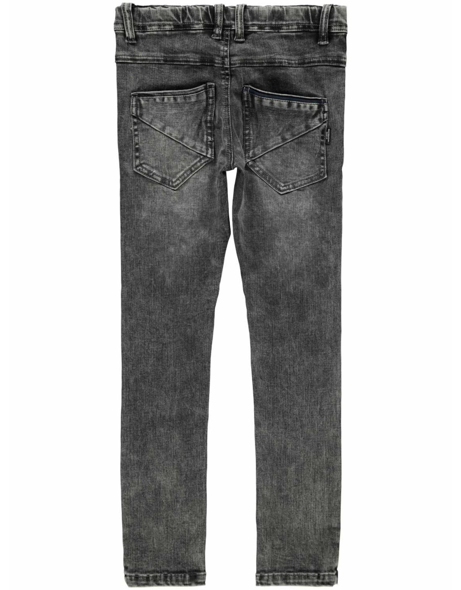Name It Zwartgrijze skinny jeans - LAATSTE MAAT 164